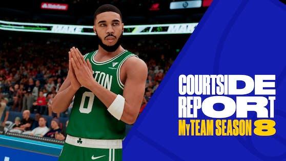 """NBA 2K21"" Mein TEAM Season 8 ""Trial of Champions"" verfügbar."