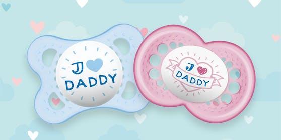 """Jetzt teilnehmen und eine Doppelpackung """"I Love Daddy"""" von MAM Babyartikel gewinnen!"""