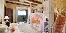 Ein Märchenbett für die kleine Lilibet