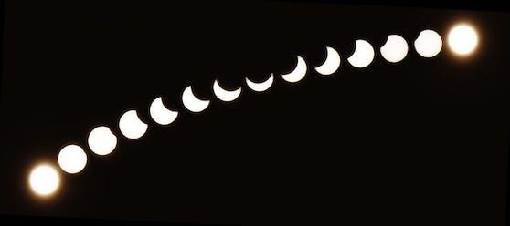 Ein Naturschauspiel, das nur alle paar Jahre zu sehen ist: Die Sonnenfinsternis.