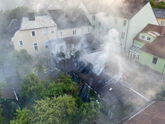 Gartenhüttenbrand in Wr. Neustadt