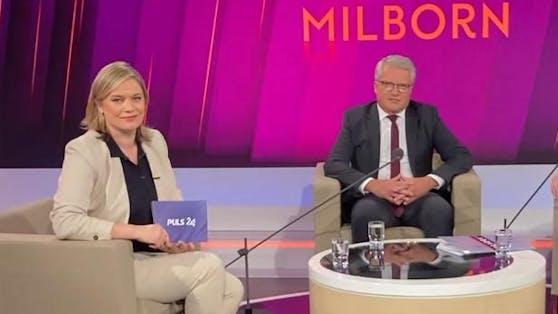 Bei Corinna Milborn sprach Klaus Luger über die Corona-Pandemie und den Zustand seiner SPÖ.
