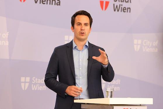 Vizebürgermeister Christoph Wiederkehr