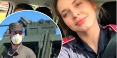 Roxanne Rapp an slowenischer Grenze aufgehalten