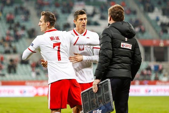 Milik und Lewandowski