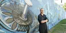 Zaun am Karlsplatz ist jetzt urbanes Kunstprojekt