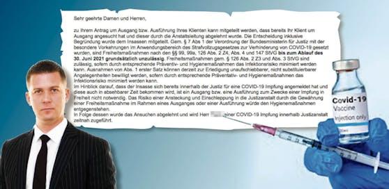 Ablehnung der Impfung; Anwalt M. Burger