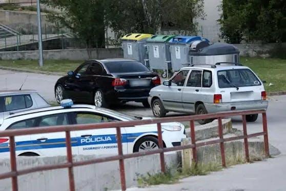 In diesem Auto kam es zur Tragödie in Kroatien.