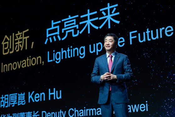 Ken Hu, Rotating Deputy Chairman von Huawei.