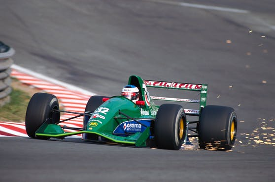 Michael Schumachers erster Bolide wird verkauft.