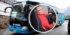 Wer sitzt wo im ÖFB-Bus? Chauffeur Kutsenits klärt auf