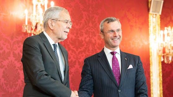 Kommt es im Herbst 2022 zu einem neuerlichen Duell um die Hofburg zwischen Norbert Hofer und Alexander Van der Bellen?
