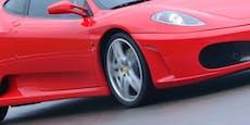 Frau schrottet teuren Ferrari, um ein Leben zu retten