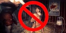 Dieses Tierschutz-Plakat ist den Schweizern zu heftig