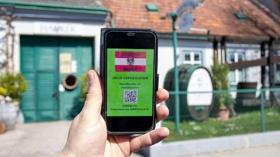 Der Grüne Pass soll den Zutritt zu Lokalen und anderen Einrichtungen in Österreich und der ganzen EU regeln.