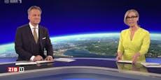 ORF-Star Bernhard hatte in ZiB drei Minuten Verspätung