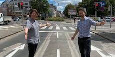 Posse in Ottakring: Radweg muss wegen Öffi-Stau weichen