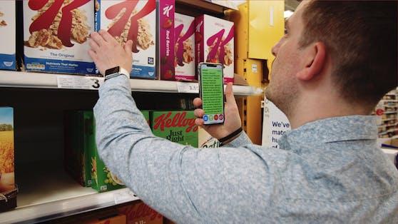 Kellog's bringt in Europa erste Produktverpackungen für Blinde und Sehbehinderte auf den Markt.