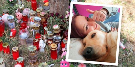 Sie bleibt unvergessen: Blumen- und Kerzenmeer für Leonie (13).