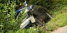 Zuerst Auto geklaut, dann Unfall gebaut