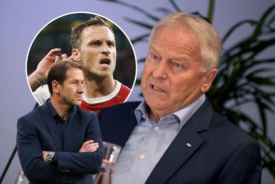 """Diktieren Arnautovic und Co. Foda die Taktik? """"Nein"""", sagt Windtner."""