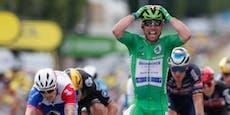 Cavendish sprintet zu seinem 32. Tour-Etappensieg