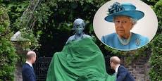 Die Prinzen warten im Garten – aber wo ist die Queen?