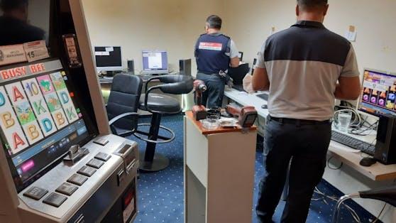 Finanzpolizei hebt illegale Glücksspielhölle in Wien-Ottakring aus