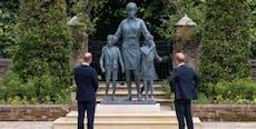 Diana-Statue bringt William und Harry einander näher
