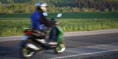 Audi ausgewichen – Moped-Schwestern (12, 15) verletzt