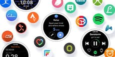 Samsung-Smartwatches mit neuer Benutzeroberfläche