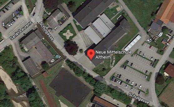 An der NMS Altheim kam es zur Messer-Attacke auf einen 14-Jährigen.