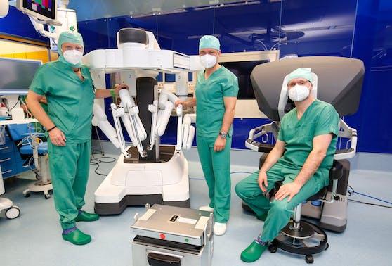 Am Kepler Klinikum in Linz helfen Roboter bei schwierigen Operationen, zum Beispiel bei Krebserkrankungen.