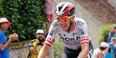 Konrad verpasst auf 14. Tour-Etappe knapp den Sieg