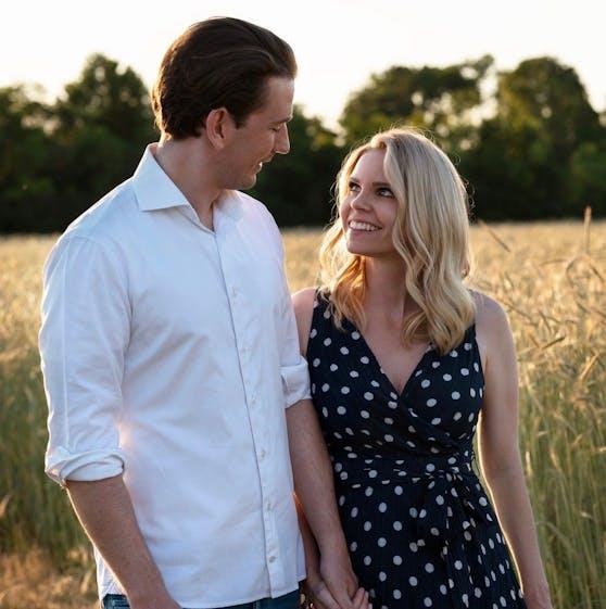 Sebastian Kurz mit Susanne Thier. Sie wird die Mutter seines Kindes.