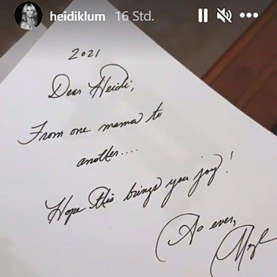 Herzogin Meghan schrieb Heidi Klum diese private Nachricht
