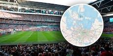 Paarungszeit als Bedrohung für das EM-Finale in London?