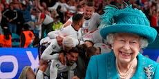 Das schrieb die Queen vor dem EM-Finale an England-Team