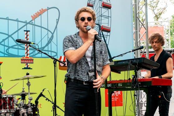 Nathan Trent live am Maifest 2021