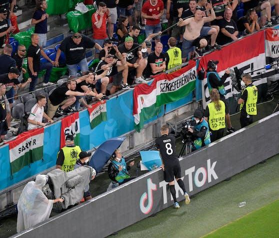 Ärger mit den Ungarn-Fans