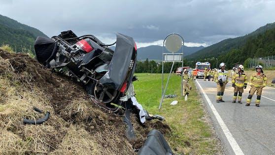 Schwerer Verkehrsunfall in Achenkirch (Bezirk Schwaz) fordert ein Todesopfer und mehrere Verletzte