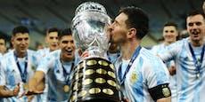 1:0! Messi gewinnt ersten großen Titel mit Argentinien