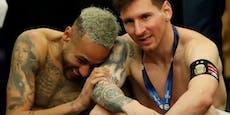 Fans sauer – Neymar lacht nach Finalpleite mit Messi