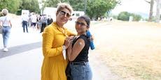 Impfbox auf Donauinsel gestürmt! Wo noch geimpft wird