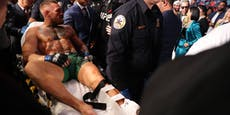 Knöchel gebrochen! McGregor verliert Mega-Kampf