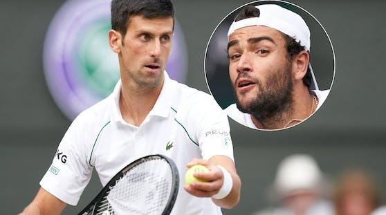 Novak Djokovic, Matteo Berrettini