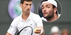 """Djokovic im """"Italien-Finale"""" um den Rekord-Titel"""