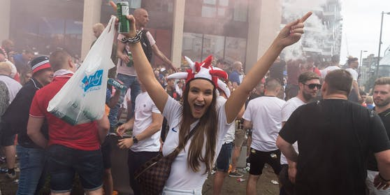 England gegen Italien – Fan-Wahnsinn beim EM-Finale