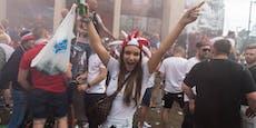 Tausende Fans feiern in London wilde EM-Party