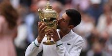 Djokovic schreibt mit Wimbledon-Triumph Geschichte